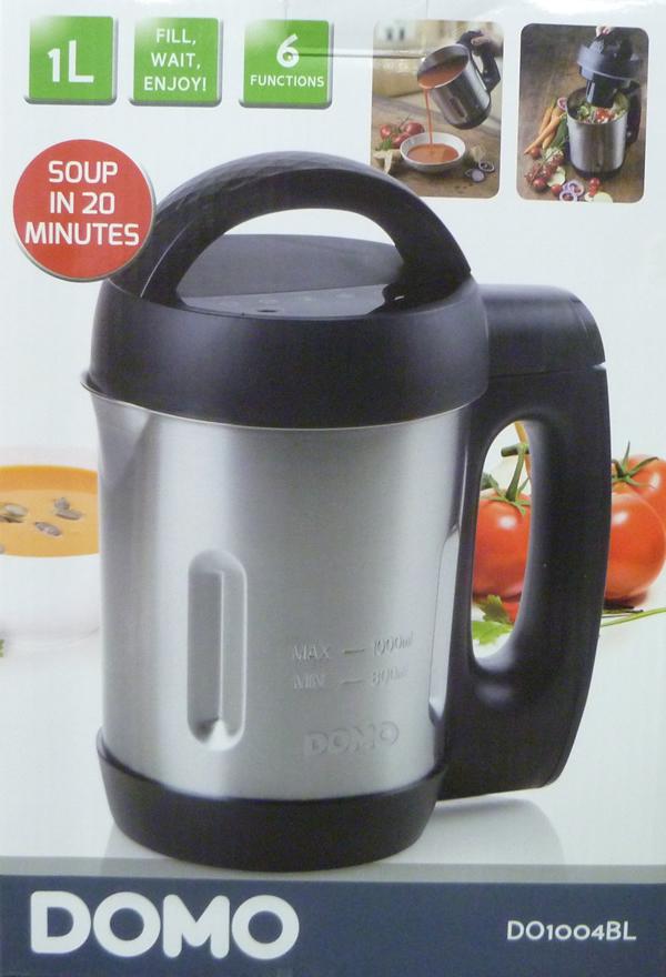Mixeur à soupe Domo DO1004BL