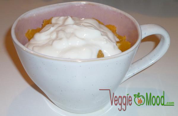 Porridge froid chocolat-oranges