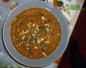 Soupe veloutée de carottes aux épices