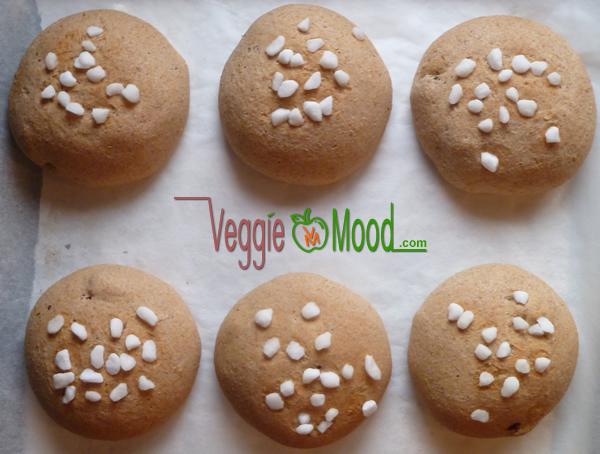 Recette brioches vegan eau de fleur d'oranger et raisins