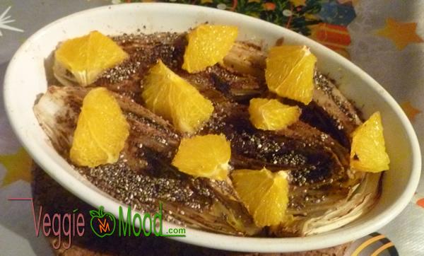 Recette chicons braisés oranges au sirop d'érable et épices - 2