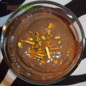 Crème vegan à la caroube