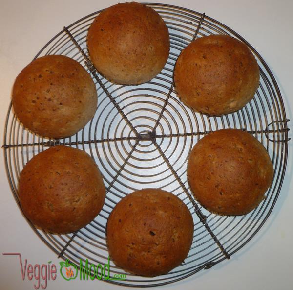 Recette petits pains vegan amandes
