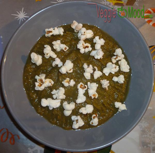 Ingrédients purée de chicons et poireaux au popcorn
