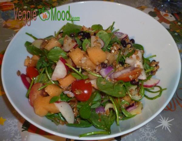 Ingrédients salade de pourpier vinaigrette au sirop d'érable
