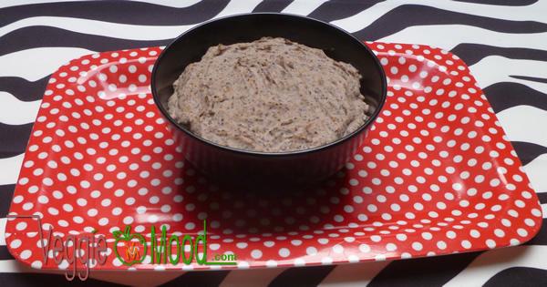 Ingrédients tartinade haricots rouges et graines de lin