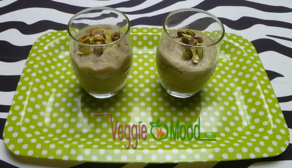 Recette verrine de panais aux pistaches