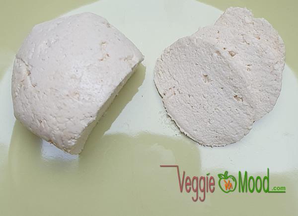 Mozzarella vegan maison