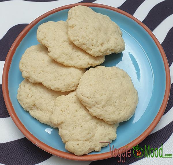 Recette cookies à l'eau de fleur d'oranger