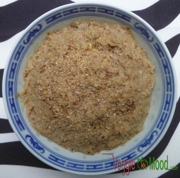 Tartinade de fonio au miso rouge