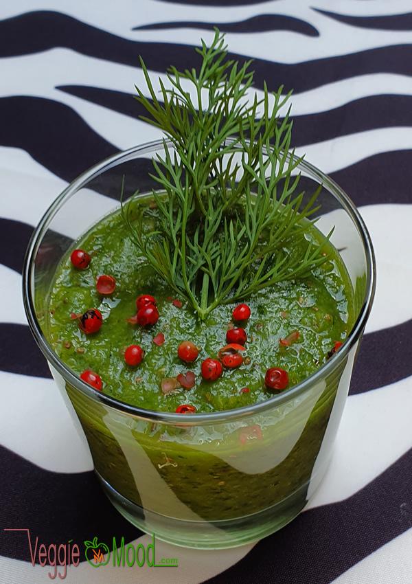 Ingrédients verrines concombre-poire-aneth