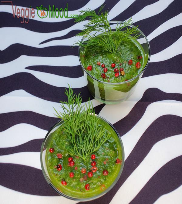 Recette verrines concombre-poire-aneth