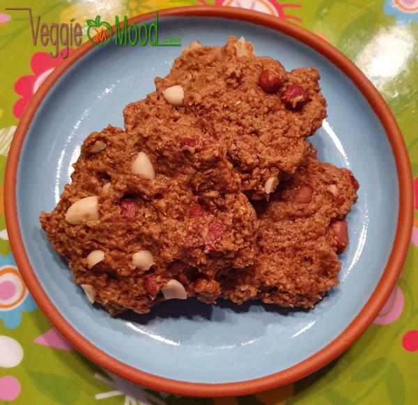 Recette cookies cacahuètes et gombo