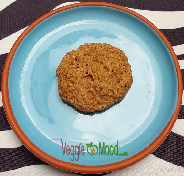 Cookies au sésame torréfié et fleur d'oranger