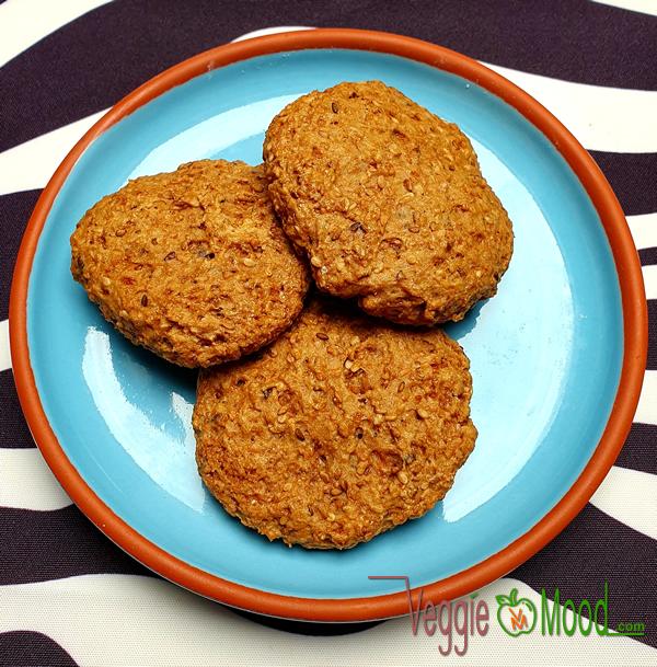 Recette des cookies au sésame torréfié et fleur d'oranger