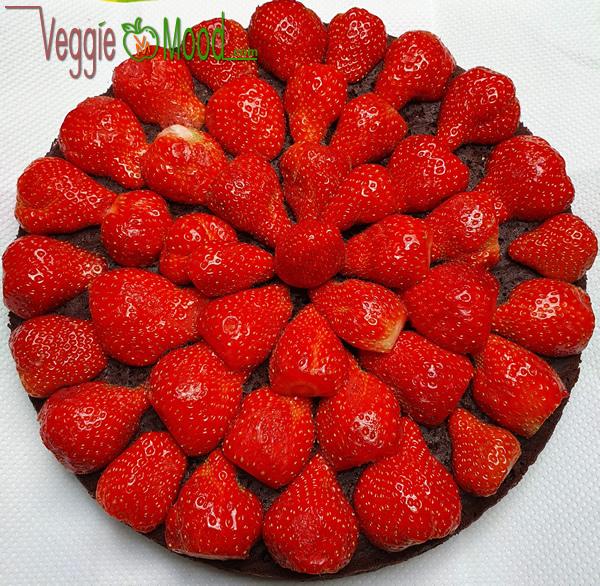 Fondant chocolat aux fraises