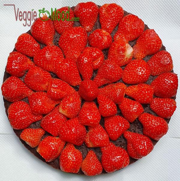 Recette fondant chocolat aux fraises