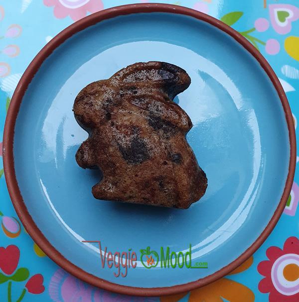 Recette mini cakes chocolat et épices (forme lapin)