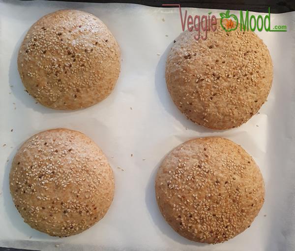 Ingrédients pains à hamburger maison à la farine d'épeautre