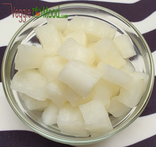 Pickles de daikon nature