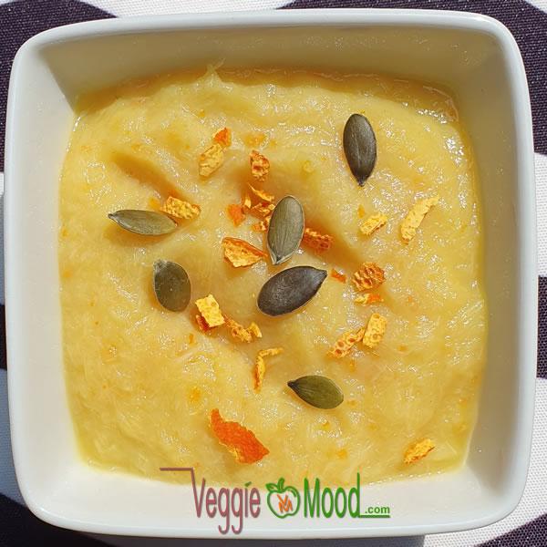 Verrines asperges-orange