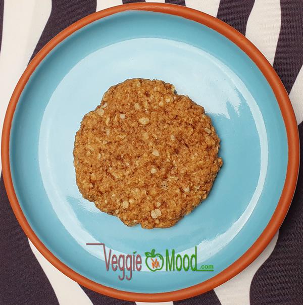 Cookies flocons d'avoine à la fleur d'oranger