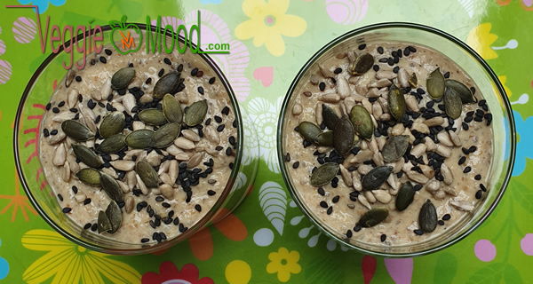 Recette crème de champignons des bois au miso rouge