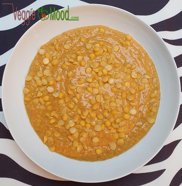 Gaspacho de tomates au lait de coco et épices