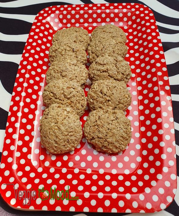 Ingrédients biscuits express aux noisettes