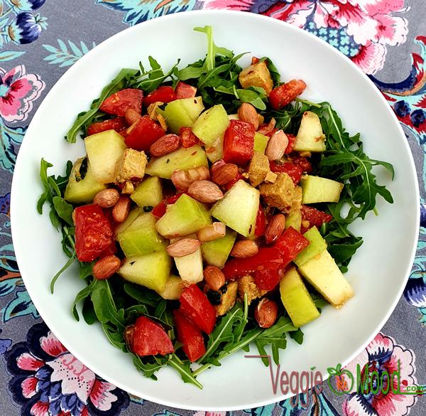 Salade de melon façon thaï