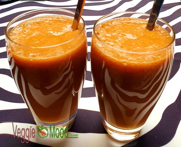 Recette smoothie abricots au thé vert