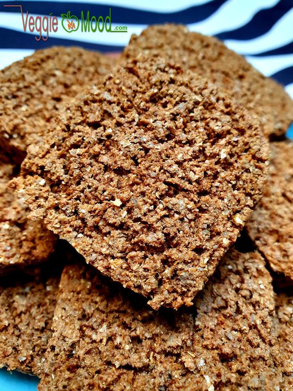 Recette biscuits à la farine de seigle, cannelle et gingembre