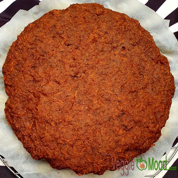 Recette carrot cake à la vanille au wok (vegan)
