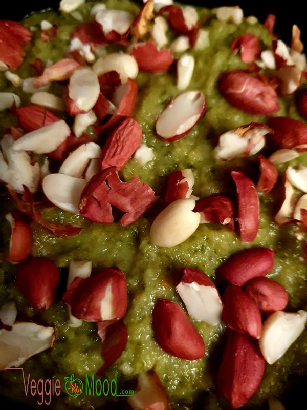 Recette purée de courgettes au beurre de cacahuètes