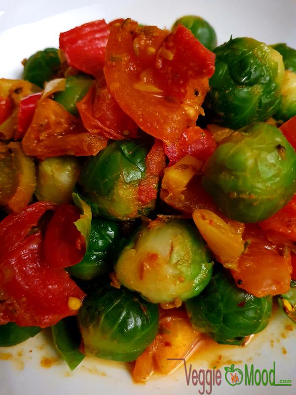 Choux de Bruxelles aux épices