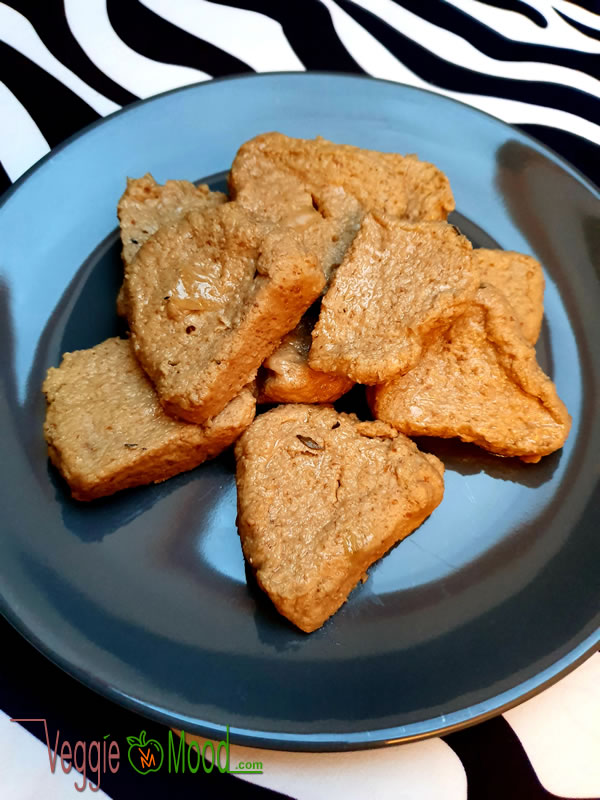 Recette seitan (goût poulet)