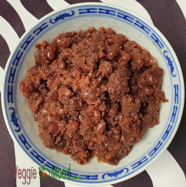 Recette pâte de haricots rouges au sucre de coco (Anko)