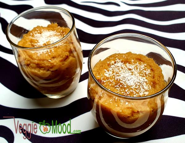 Recette purée de panais et patate douce à la noix de coco