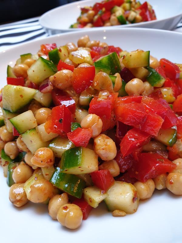 Recette salade de pois chiches