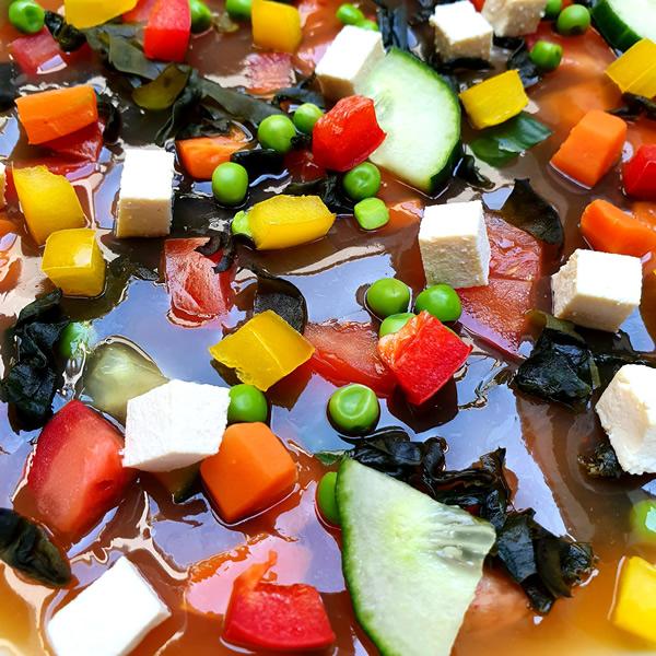 Recette soupe miso en gelée