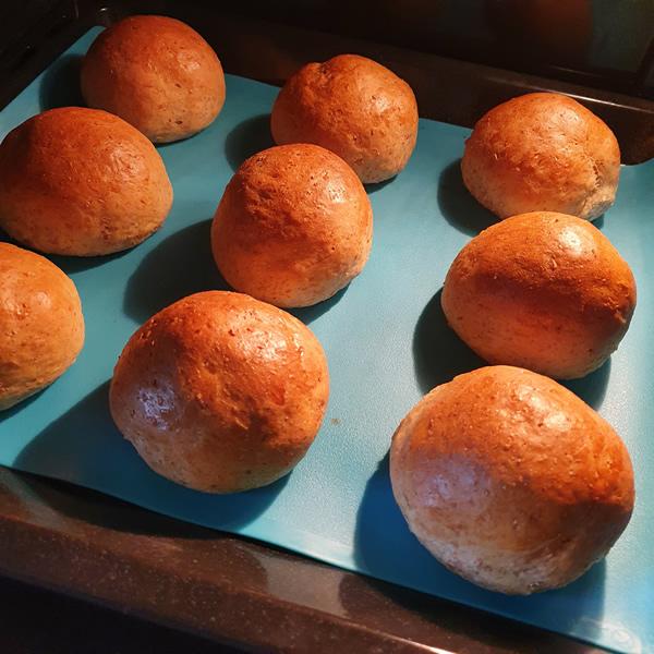 Recette petits pains au lait végétal d'amande