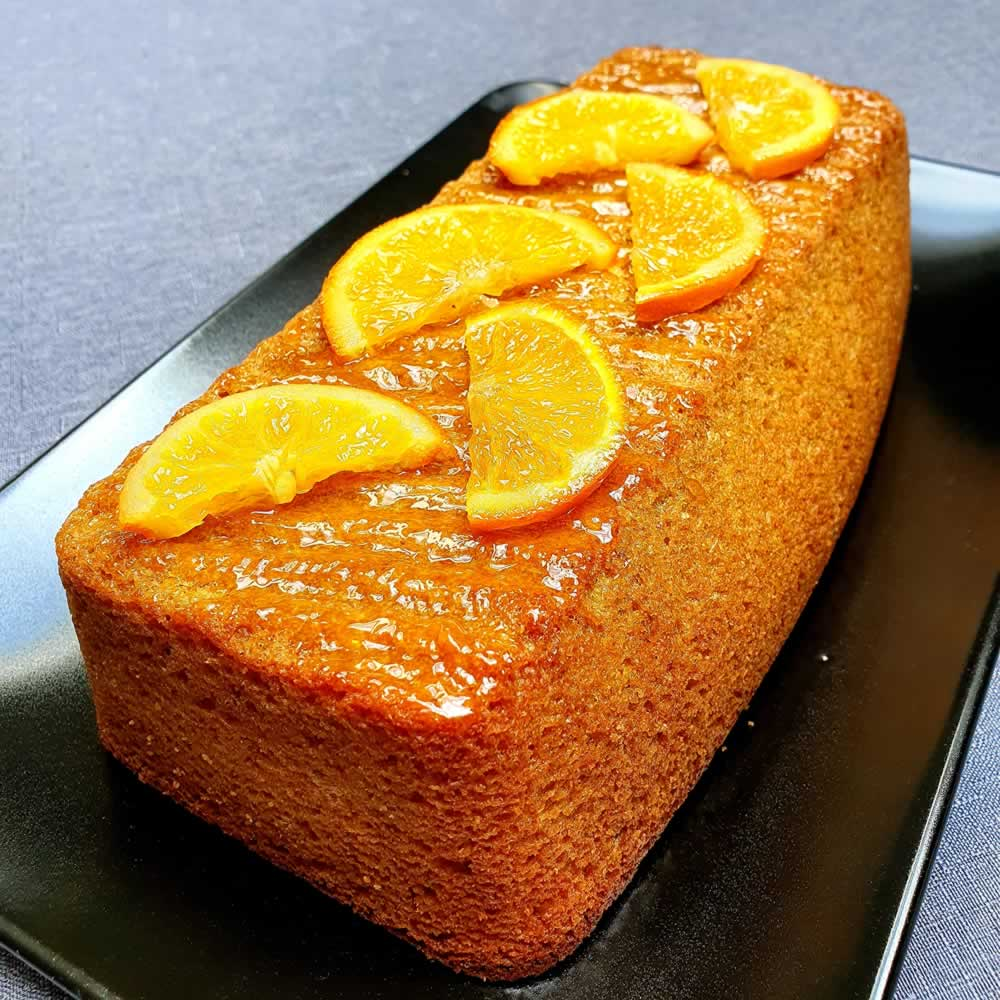 Cake polenta à l'orange
