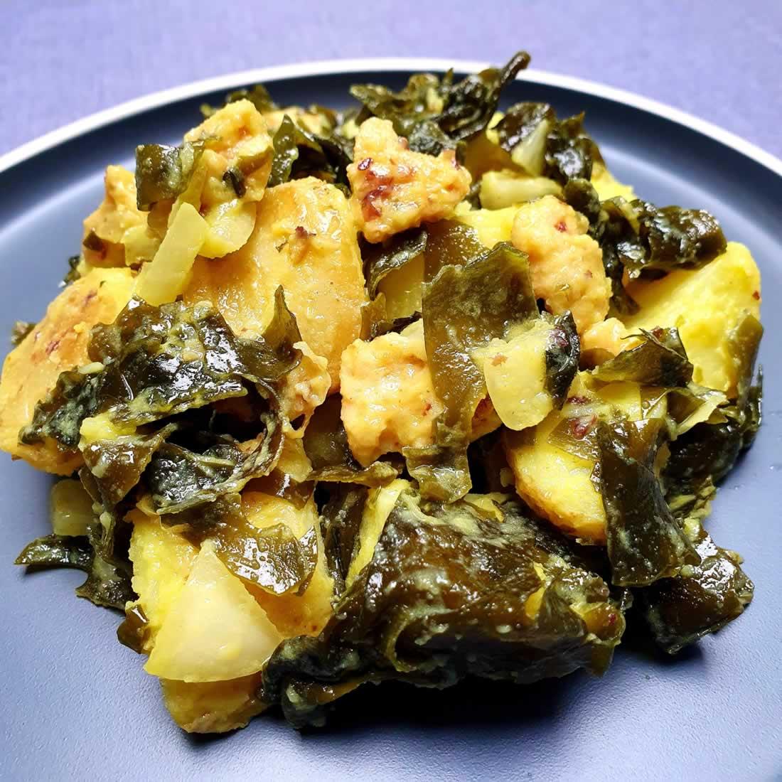 Salade de pommes de terre vegan (façon terre-mer)